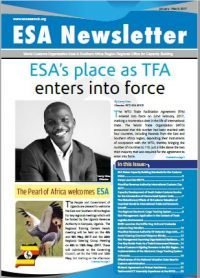WCO ESA Newsletter January – March 2017 Edition.