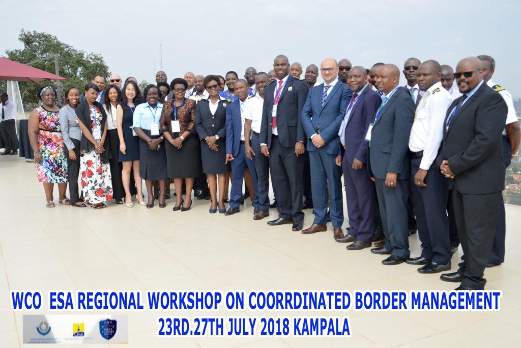 The WCO Regional Workshop for the East South Africa (ESA) region