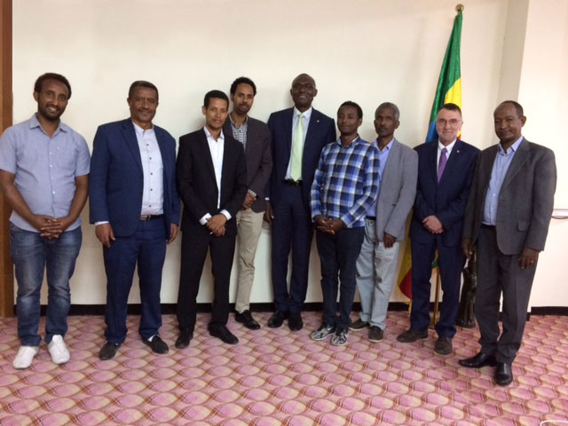 Ethiopian Customs Commission (ECC) and WCO working together to reinforce integrity in Customs.