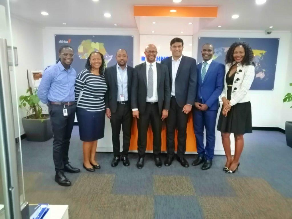 Vice Chair, paid a courtesy visit toTechno Brain, Kenya