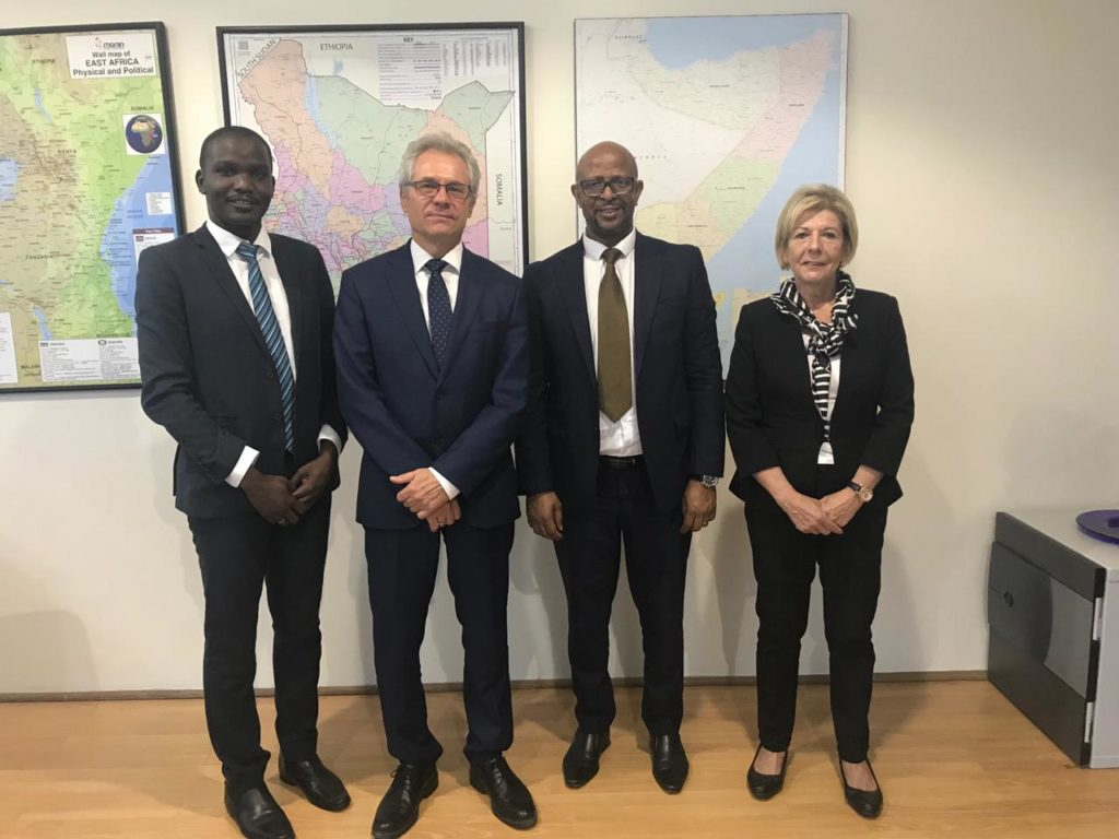 Vice Chair pays a courtesy call to the Finnish Ambassador to Kenya