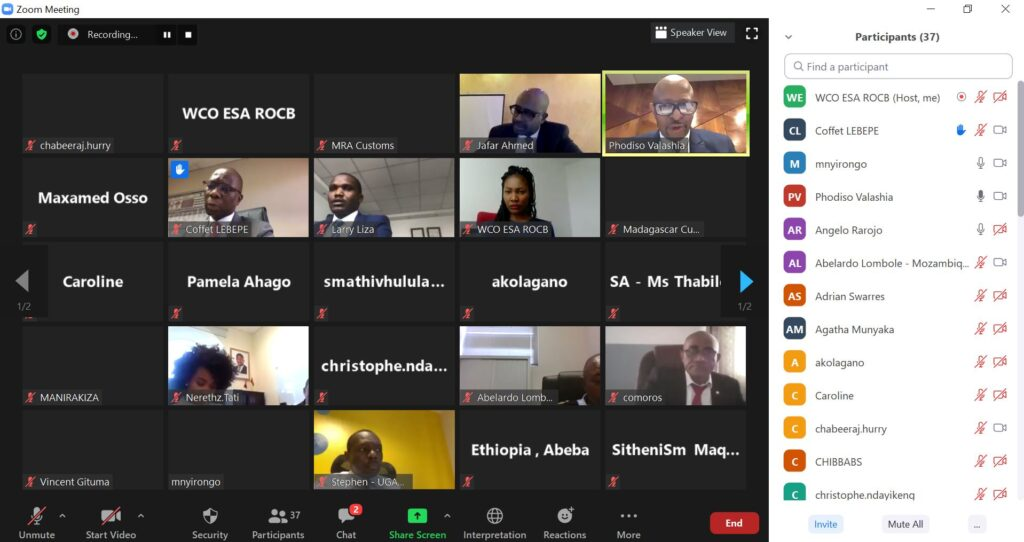 25th Governing Council Virtual Meeting, 22nd June 2020
