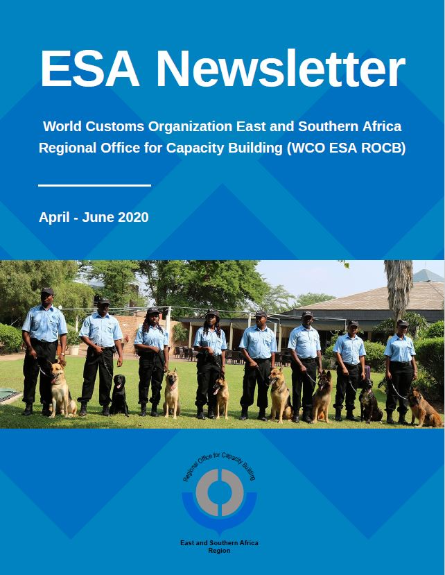 WCO ESA Newsletter April – June 2020 Edition