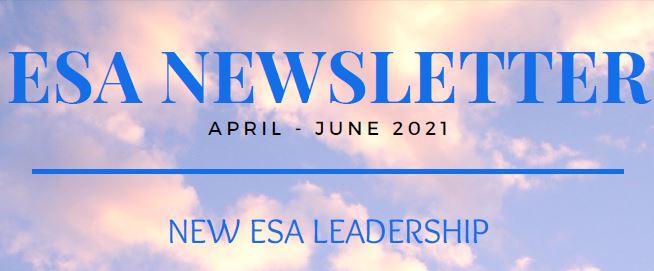 WCO ESA Newsletter April – June 2021 Edition